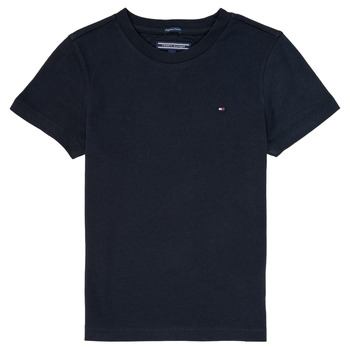 textil Niño Camisetas manga corta Tommy Hilfiger KB0KB04140 Marino