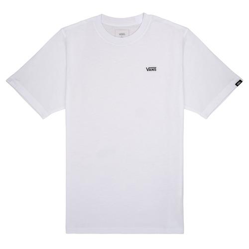 textil Niño Camisetas manga corta Vans BY LEFT CHEST Blanco