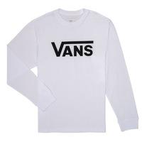 textil Niño Camisetas manga larga Vans BY VANS CLASSIC LS Blanco