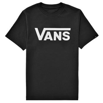 textil Niños Camisetas manga corta Vans BY VANS CLASSIC Negro