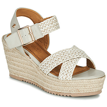 Zapatos Mujer Sandalias Refresh LILIOU Beige
