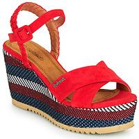 Zapatos Mujer Sandalias Refresh LOCKAL Rojo