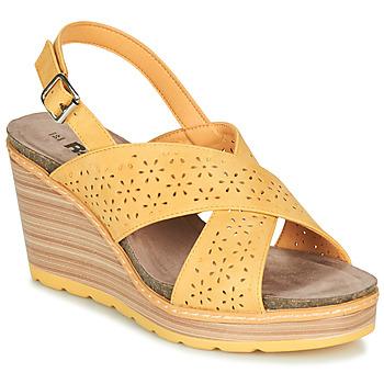 Zapatos Mujer Sandalias Refresh RILO Amarillo