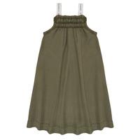 textil Niña vestidos cortos Le Temps des Cerises BIJA Kaki
