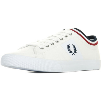 Zapatos Hombre Zapatillas bajas Fred Perry Underspin Tipped Cuff Blanco