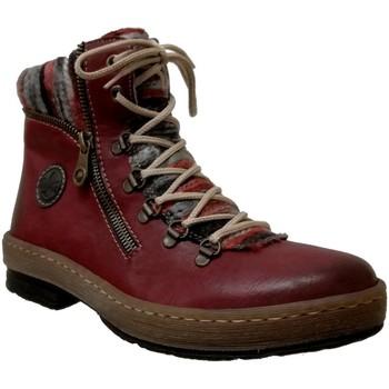 Zapatos Mujer Botas de caña baja Rieker Z6741 Rojo