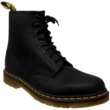 Zapatos Hombre Botas de caña baja Dr Martens 1460 Cuero negro