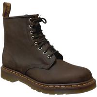 Zapatos Hombre Botas de caña baja Dr Martens 1460 Cuero marrón