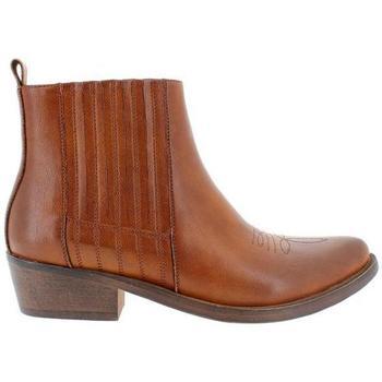 Zapatos Mujer Botines Blogger XI-OR9811 Tan
