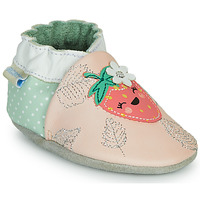 Zapatos Niña Pantuflas Robeez FRUIT'S PARTY Rosa / Verde