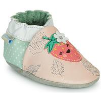 Zapatos Niña Pantuflas Robeez FRUIT'S PARTY Rosa / Verde