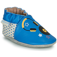 Zapatos Niños Pantuflas Robeez MUSIC SOUND Azul / Beige