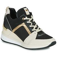 Zapatos Mujer Zapatillas bajas MICHAEL Michael Kors GEORGIE Negro / Beige / Oro