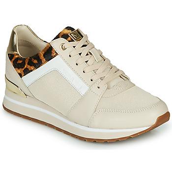 Zapatos Mujer Zapatillas bajas MICHAEL Michael Kors BILLIE Beige / Leopardo