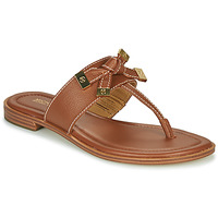 Zapatos Mujer Chanclas MICHAEL Michael Kors RIPLEY THONG Cognac