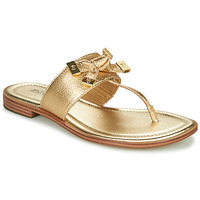 Zapatos Mujer Chanclas MICHAEL Michael Kors RIPLEY THONG Oro