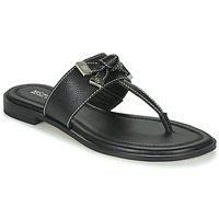Zapatos Mujer Chanclas MICHAEL Michael Kors RIPLEY THONG Negro