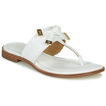 Zapatos Mujer Chanclas MICHAEL Michael Kors RIPLEY THONG Blanco