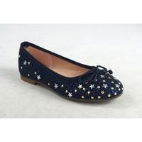 Zapatos Niña Bailarinas-manoletinas Bubble Bobble A2727 Azul