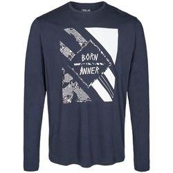 textil Hombre Camisetas manga larga Solid Filippo 19