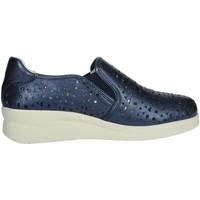 Zapatos Mujer Mocasín Riposella 75509 Azul