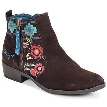 Zapatos Mujer Botines Desigual NATALIA Chocolate