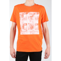 textil Hombre Tops y Camisetas Lee Logo Tee L63GAIMO naranja