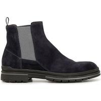 Zapatos Hombre Botas de caña baja Café Noir HTE643 BLU