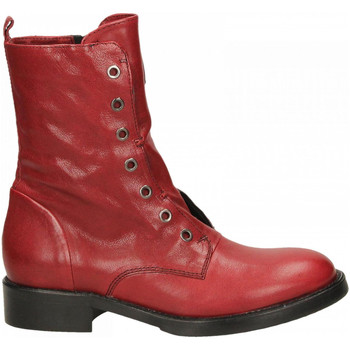 Zapatos Mujer Botas de caña baja Fabbrica Dei Colli 511 WOOD 00006-rosso