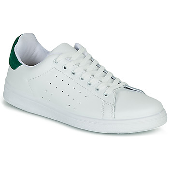 Zapatos Mujer Zapatillas bajas Yurban SATURNA Blanco / Verde