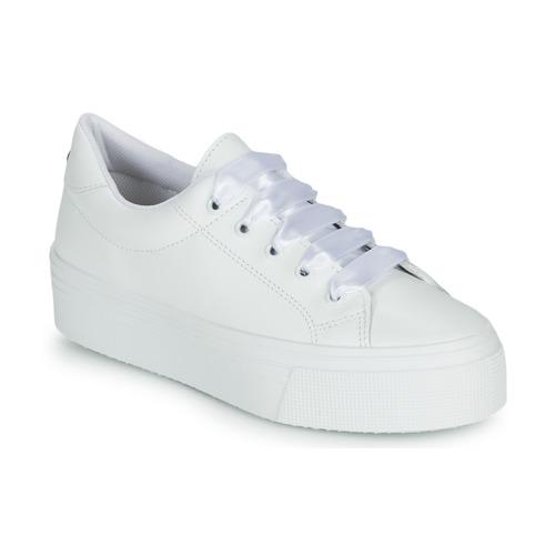 Zapatos Mujer Zapatillas bajas Yurban JUNNY Blanco