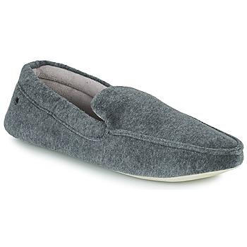 Zapatos Hombre Pantuflas Isotoner 96774 Gris
