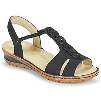 Zapatos Mujer Sandalias Ara HAWAII Negro