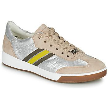 Zapatos Mujer Zapatillas bajas Ara ROM-HIGHSOFT Plata / Beige / Amarillo