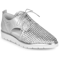 Zapatos Mujer Derbie Regard LUCEY V2 TRESSE SILVER Plata