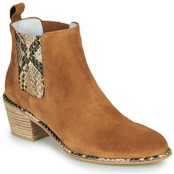 Zapatos Mujer Botas urbanas Regard NINA V6 PESCA P CUOIO Marrón