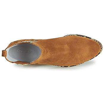 Regard NINA V6 PESCA P CUOIO Marrón - Envío gratis    - Zapatos Botas urbanas Mujer 12720