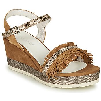 Zapatos Mujer Sandalias Regard DURTAL V2 CROSTA CUOIO Marrón