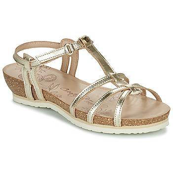 Zapatos Mujer Sandalias Panama Jack DORI Oro