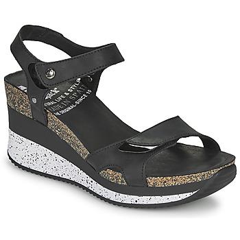 Zapatos Mujer Sandalias Panama Jack NICA Negro