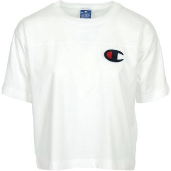 textil Mujer Camisetas manga corta Champion Crewneck T-Shirt Blanco