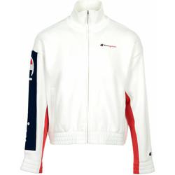 textil Mujer Chaquetas de deporte Champion Full Zip Sweatshirt Wn's Blanco
