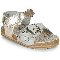 Zapatos Niña Sandalias Mod'8 KORALY Oro