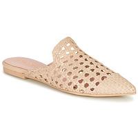 Zapatos Mujer Zuecos (Mules) Pretty Ballerinas COTON ROSATO Beige
