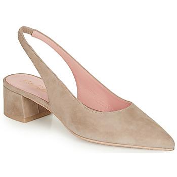 Zapatos Mujer Zapatos de tacón Pretty Ballerinas ANGELIS SAFARI Beige