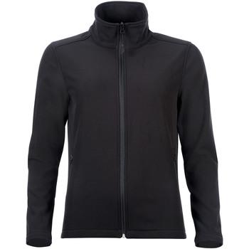 textil Mujer chaquetas de deporte Sols RACE WOMEN SOFTSHELL Negro