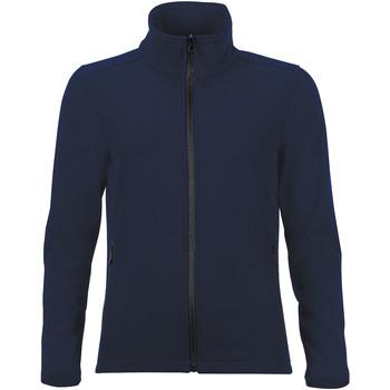 textil Mujer chaquetas de deporte Sols RACE WOMEN SOFTSHELL Azul