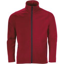 textil Hombre Chaquetas de deporte Sols RACE MEN SOFTSHELL Rojo