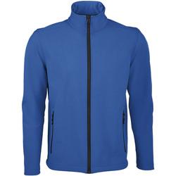 textil Hombre Chaquetas de deporte Sols RACE MEN SOFTSHELL Azul