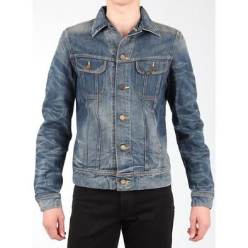 textil Hombre Chaquetas / Americana Lee Rider Jacket L88842RT azul marino